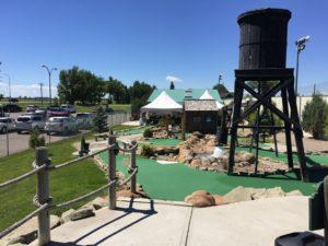 Mini Golf Obstacles