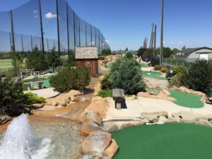 Mini Golf Course With Fountain