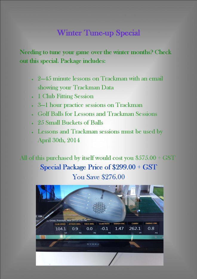 Winter Training PAckage
